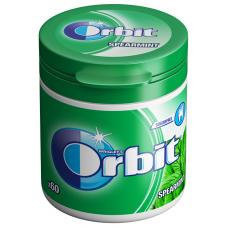 Košļ.gum.Orbit Spearmint Bottle 60pellets