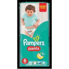 AUTIŅBIKSĪTES PAMPERS PANTS S6 44GAB