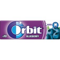 Košļ.gum.Orbit Blueberru bez cukura