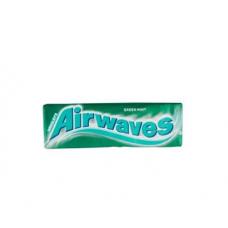 Košļ.gum.Airwaves Green Mint 10gab