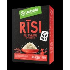 Rīsi tvaicēti 4x0.125kg Dob