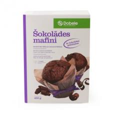 Mafini šokolādes 0.45kg Dobele