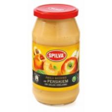 Biezenis Ābolu ar persik.0.5kg Spilva