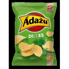 Čipsi Ādažu dilles 0.15kg