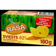 Sviests Rasa saldkrēj.82% 0.18kg
