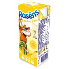 Piens Rasēns ar banānu piedevu 0.2l