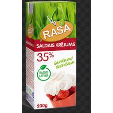 Krējums saldais Rasa 35% 200ml
