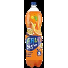 Dzēriens Fruts Activ tropical,burkāns 1.5l PET