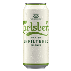 ALUS CARLSBERG UNFILTERED 5% 0.5L CAN