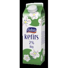KEFĪRS 2% 1L KARTONĀ TP