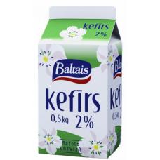 KEFĪRS 2.0% 0.5L TP