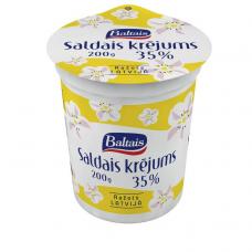 SALDAIS KRĒJUMS BALTAIS 35% 200G TP