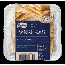 PANKŪKAS BALTAIS KLASISKĀS 4GB 280G