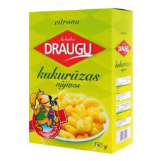 Kukurūzas nūjiņas Draugu ar citronu 0.15kg