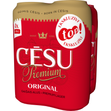ALUS CĒSU PREMIUM PINTE 5.2% 0.568LX4 TOP PAKA CAN