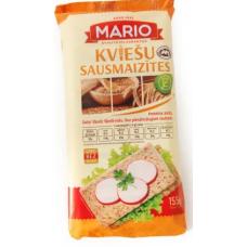 Sausās kviešu maizītes 155g
