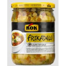 Zupa Frikadeļu ar gaļu 0.48kg KOK