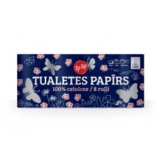 TUALETES PAPĪRS TIP TOP 8RUĻĻI