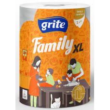 DVIELIS  PAPĪRA GRITE FAMILY XL 2KĀRTU 1 RULLIS 250LPP