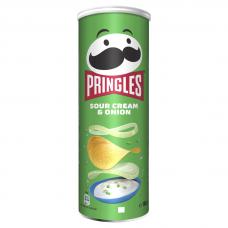 *Čipsi Pringles SourCream&Onion 0.165kg