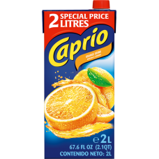Dzēriens Caprio apelsīnu 2L