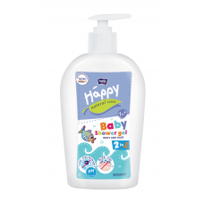 DUŠAS ŽELEJA HAPPY NATURAL CARE ĶERMENIM UN MATIEM 300ML