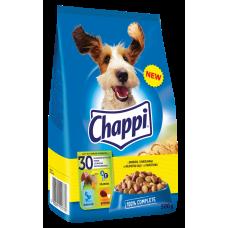 Suņu b.Chappi ar mājputnu gaļu un dārzeņiem 0.5kg