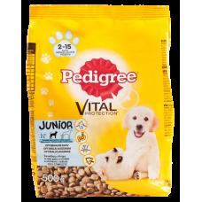 Suņu b.Pedigree Junior ar cāļa g.0.5kg