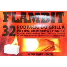 AIZDEDZINĀŠANAS KLUCĪŠI BALTIE FLAMBIT 32GB