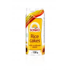 Galetes Sonko rīsu ar saulesp.sēklām 130g