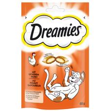 Kaķu b. DREAMIES ar vistu 60g