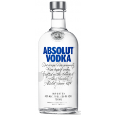 DEGVĪNS ABSOLUT VODKA 40% 0.7L