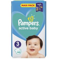 AUTIŅBIKSĪTES PAMPERS ACTIVE BABY S3 66GAB