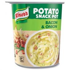 Kartupeļu biezenis KNORR ar bekonu 51g